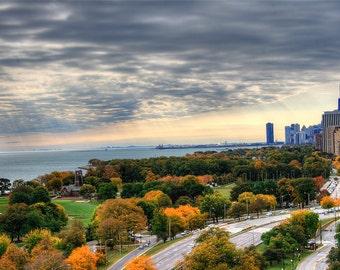 Autumn Chicago Morning - By Melinda Klein Photography