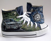 Customized  converse painted sneakers hand painted converse fanart shoes  any character and design womans converse mens shoes