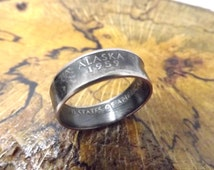 Alaska wedding rings