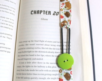 Hedgehog Ribbon Bookmark