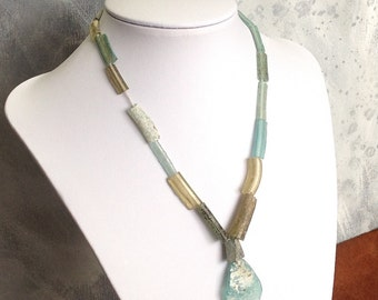 Roman Glass Beads Ancient Antique OOAK    RG-115