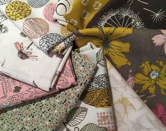 Sketchbook Fat Quarter Bundle Art Gallery Fabrics by Sharon Holland