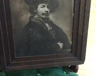 Antique Rembrandt Print