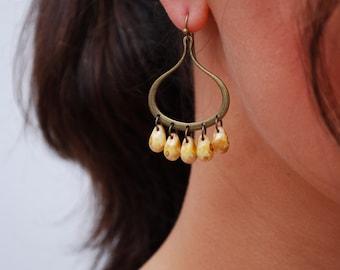 Drop earrings, elegant earrings, unusual jewellery, wedding earrings, teardrop earrings,  anniversary gift