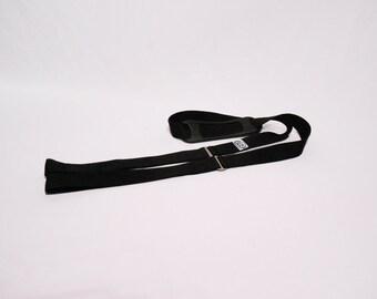 Black Skate Strap - Roller Derby - Skate Leash - Skate Noose