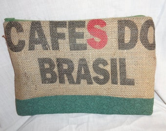 Burlap Coffee Bean Sack Pouch
