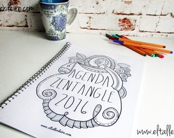 Agenda Zentangle 2016 (.pdf version)