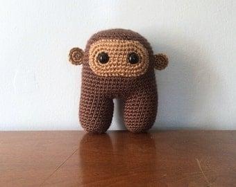 Sasquatch Plush Toy - Crochet Amigurumi - Bigfoot Plushies - Monster Plush - Toy Monster - Geek Gift - Amigurumi Animals - Stuffed Sasquatch