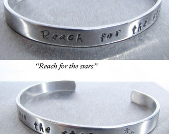 Engraved Bracelet for Women Jewelry Gifts, Engraved Quote Jewelry, Empower Woman Jewelry
