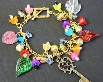 Garden Key Bracelet