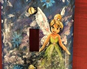 Custom handpainted light cover.  Any theme.