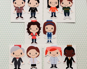 Gilmore Girls Magnetic Bookmarks Individuals and Set