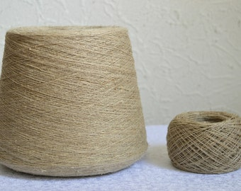 100% natural linen yarns, 50g / 1,76 oz balls