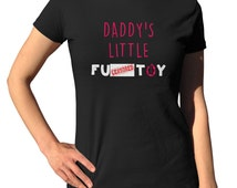 DDLG Shirt BDSM Clothing Babygirl Shirt BDSM Gifts F*ck Toy Baby Girl Tshirt Ddlg T-shirt Little Girl Tee Cute Submissive Clothes Mature