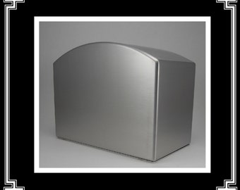 The Archway Cremation Urn/Cremation Urn/Funeral Urn/pet Urns/Stainless Steel Urn/Urns for ashes/Made in USA/handmade urns/handcrafted urns