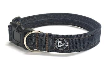 Denim Dog Jean Dog Collar