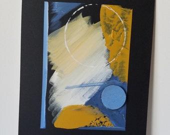 "Mixed Media Painting ""Texture 1"""