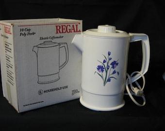 Perk Coffee Pot, Poly-Perk Regal Coffee Pot