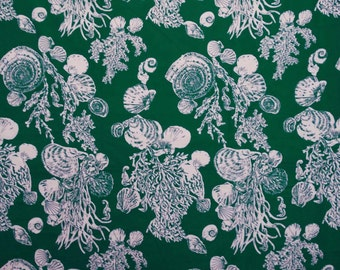 Green Floral Fabric For Sewing Decorative Fabric For Quilting Dressmaking Material Fabric Craft Supplies Floral Sew Fabric By 1 Yard ZBC5587