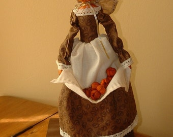 Phoebe -  Pumpkinhead Doll -