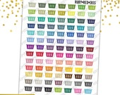 Laundry Baskets, PRINTABLE Planner Stickers, Functional Stickers, Instant Download, Erin Condren Vertical, Planner Stickers, EC Stickers