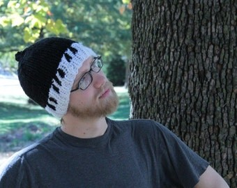 Piano Knitted Hat