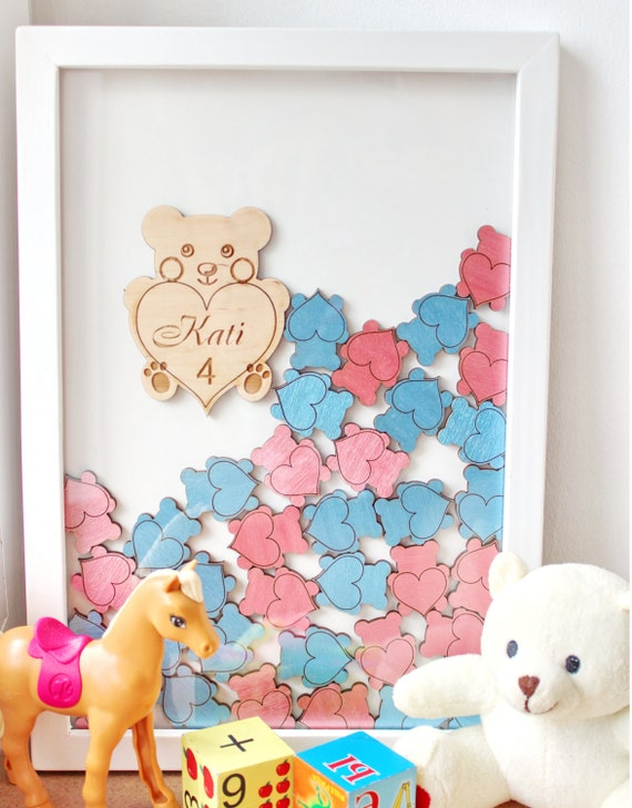 baby shower guest book alternative guest book drop top teddy bear