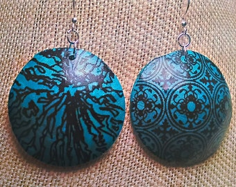 Large Mismatched Earrings