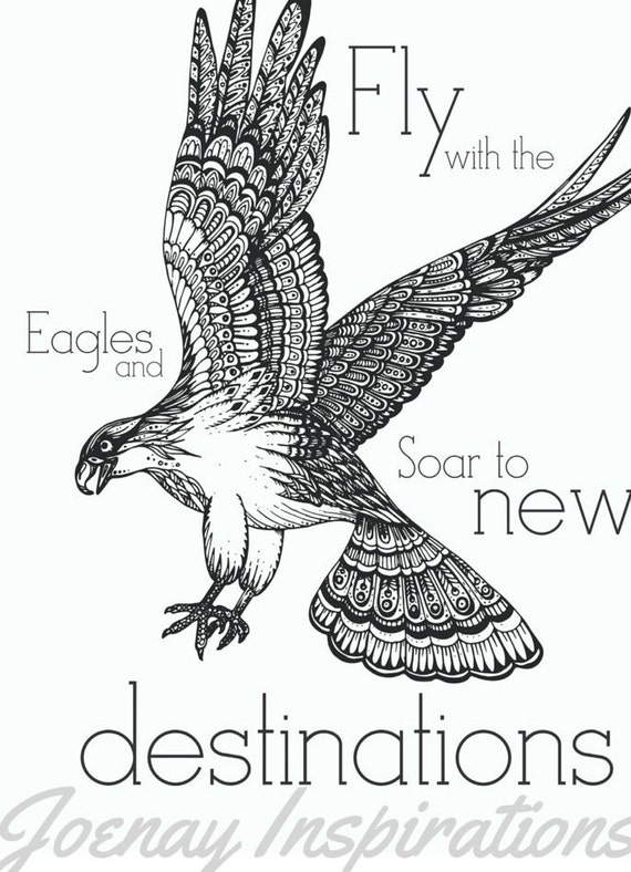 Adult Coloring Book Printable Coloring Pages, Coloring Pages, Coloring Book for Adults Instant Download Inspiration and Affirmation 2 page 4