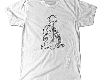 Impending doom, porcupine holding a balloon T-Shirt, funny tee art