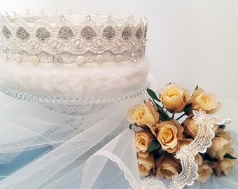Ivory Queen Crown