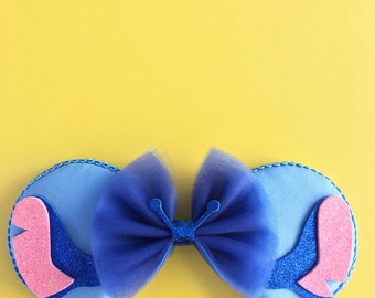 Stitch Mouse Ears, Lilo and Stitch Ears, Stitch Inspired Ears