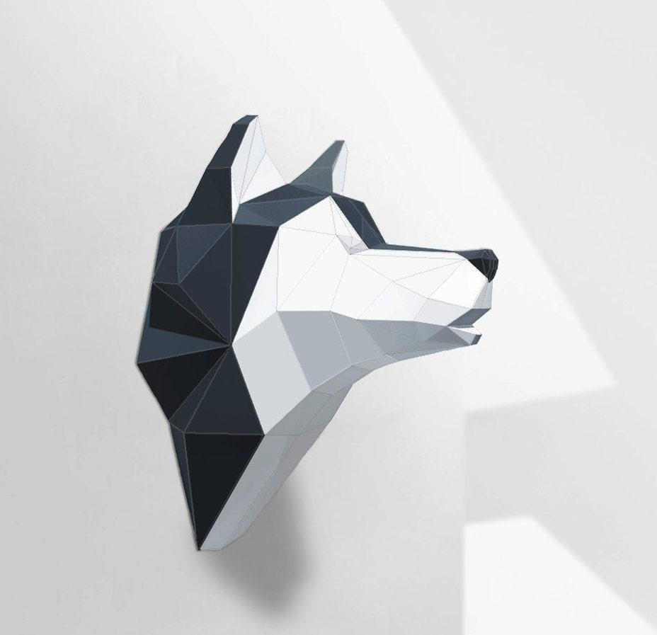 Jerusalem House Puzzle: Template 3d Cardboard Sculpture