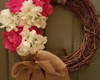 Custom floral wreaths