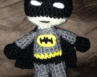 Batman Inspired Superhero Amigurumi