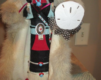 "Indian doll, by: ""Jeanenne Lester""  Handmade in the Ozarks"