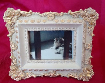 Picture Frames     French Country      French Provincial      Set of 3     cream and gold