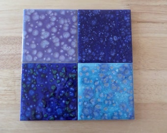 Hand Glazed Ceramic Coasters/Tiles
