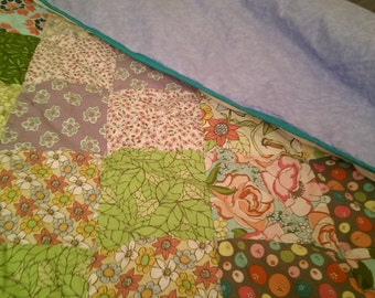 Custom Baby/Lap-size Hand-made Quilt