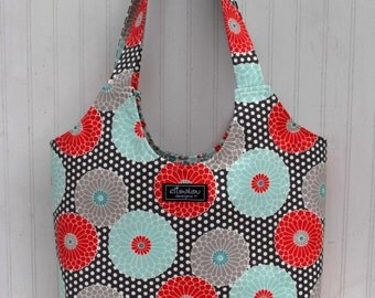 Boho Tote Bag in Springdale Sterling