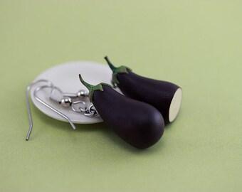 Aubergine Earrings