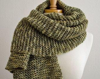 Knit Scarf, Chunky Knit Scarf, Mens Scarf, Winter Scarf, Knit Scarf Men, Womens Scarves, Wrap Scarf, Wool Scarf, Blanket Scarf, Big Scarf