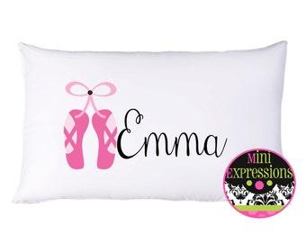 Personalized Ballerina  PillowCase