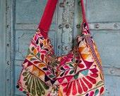 SALE/Vintage Indian Banjara Tribal Fabric Tote Bag Ethnic Kutchi mirrors handmade charm