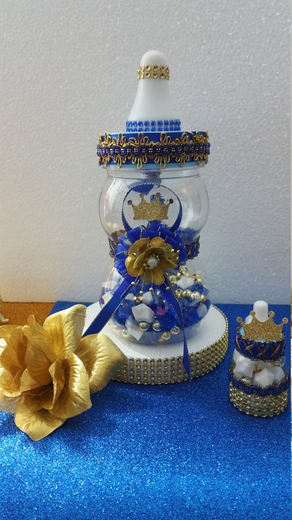 baby shower centerpiece for royal prince baby shower boys royal blue