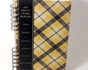 1933 VINTAGE COOK BOOK Handmade Journal Vintage Baking