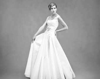 16 Ton Skirt – Custom Bridal Separates – Custom Wedding Dress – Bridal Couture by Jill Andrews Gowns