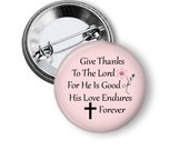 """Christian, 1.629"""" Circles, Bible Verse, Digital Collage Sheet, 1.25"""" Button Machine, Instant Download, Magnets, Pins, Badges, No.2"""