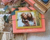 Wood Picture Frame | Wood | Distressed Frame 4x6