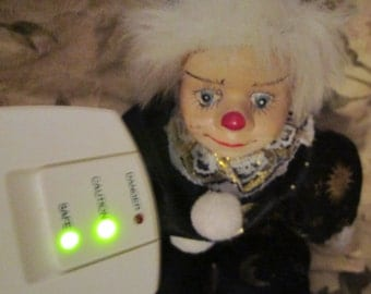 Haunted CLOWN DOLL DAISY, paranormal activity, scary doll, vintage clown, ghost, haunted spirits , emf, evp, pendulum, spirit doll, spirits